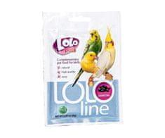 Kraftika Lololine węgiel - węgiel dla ptaków 8g, lolo, pozostałe