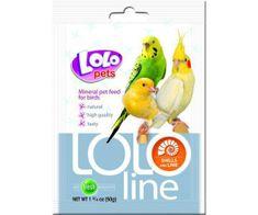 Kraftika Lololine małże i wapń dla ptaków 50g, lolo, suplementy