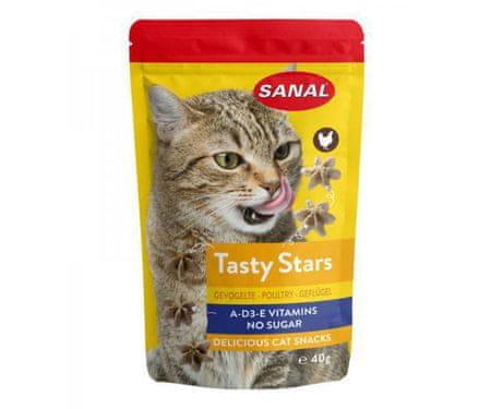 Kraftika Macska ízletes csillagok baromfi-csillagok elülső