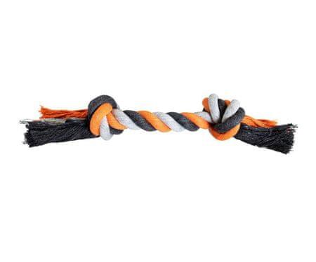 Trixie Węzeł hip-hop bawełniane knoty 36cm 2/210g szary