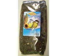 Avicentra Słonecznik czarny 1kg, avicentra, zboża, paszy