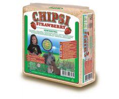 JRS Chipsi préselt forgács eper 15 l / 1kg, jr, ágynemű