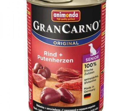 Animonda Grancarno senior-marhahús, törökország heart 400g