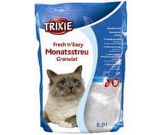 Trixie Friss n easy-granulátum 8 l, trixie, szilikát, alom, macskák