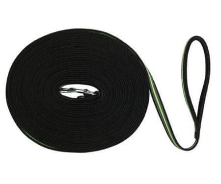 Trixie Fusion tracking póráz öv 3 m / 17mm, - fekete-zöld