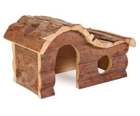 Trixie Drewniany dom hanny dla świnki morskiej 31x19x19cm