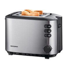 SEVERIN Automatyczny toster, ok. 850 W, zintegrowany podgrzewacz bułek, 4 s, Automatyczny toster, ok. 850 W, zintegrowany podgrzewacz bułek, 4 s