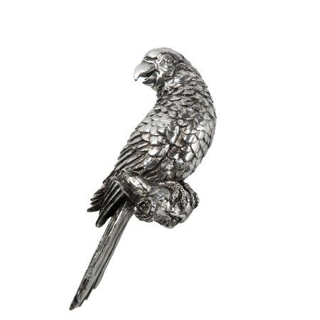 Lene Bjerre Srebrna papiga SERAFINA 27 cm