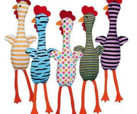 Trixie Plüss csirke hanggal, különböző színek és motívumok