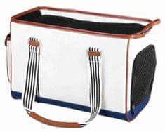 Trixie Hordozható táska elisa 20x26x41 cm fehér, trixie, ládák