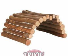 Trixie Dřevěný most z kulatých dřívek 22x10 cm pro myši a křečky