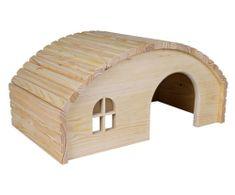Trixie Dřevěné iglů pro králíky 42x20x25 cm, domečky