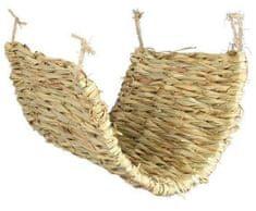 Trixie Houpačka/podložka z trávy pro osmáky a krysy 40 x 28 cm