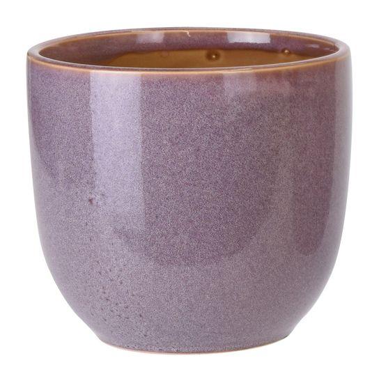 Koopman Keramický květináč Ø 16,5 cm,fialový