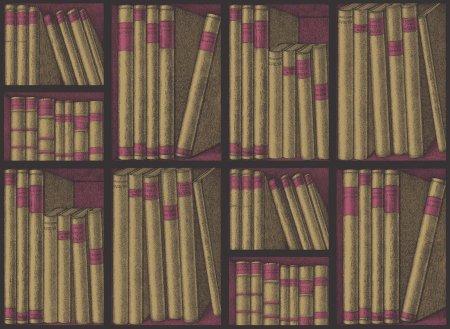 Cole & Son Ozadje EX LIBRIS 15031, kolekcija FORNASETTI SENZA TEMPO