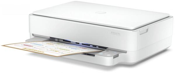 Tlačiareň HP Deskjet Plus 6075 Ink Advantage All-in-One (5SE22C) čiernobiela, atramentová, vhodná do kancelárií