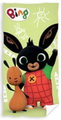 Carbotex ręcznik dziecięcy Zajączek Bing i Flop na spacerze