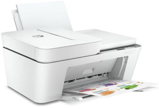 Tiskárna HP DeskJet Plus 4120 All-in-One (3XV14B) inkoustová barevná kazety FINE Canon PRINT AirPrint Mopria