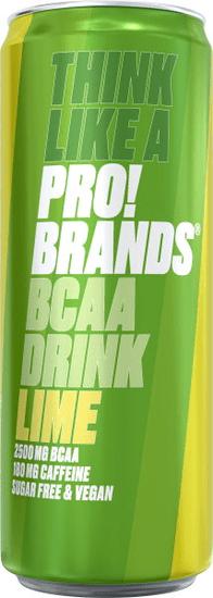 ProBrands BCAA Drink 330ml jahoda - malina