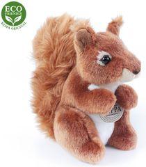 Rappa plišana vjeverica, sjedeća, ECO-FRIENDLY, 18 cm