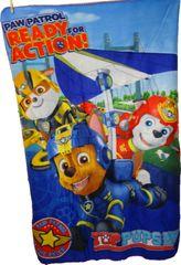 Nickelodeon Fleecová deka Paw Patrol