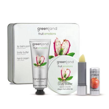 Greenland Bodycare Skin kit, pitaja-beli čaj