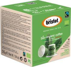 Bristot kapsle BIO coffee 55 g