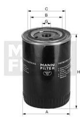 Mann Filter Filtry chladících kapalin WA940-18