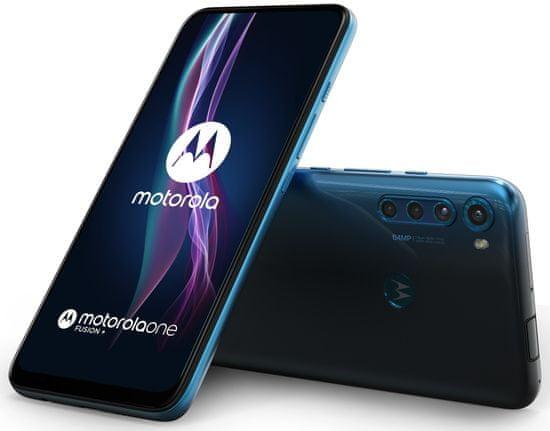 Motorola One Fusion+, 6GB/128GB, Blue