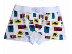 Gasolino 2330 chlapecké boxerky Barva: bílá, Velikost oblečení: 7-122