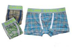 Gasolino 1539 chlapecké boxerky Barva: hnědá, Velikost oblečení: 4-104