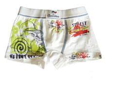 Gasolino 1654 chlapecké boxerky Barva: bílá, Velikost oblečení: 2-92