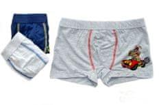 Gasolino 1460 chlapecké boxerky s prasátkem Lojzíkem Barva: světle šedá, Velikost oblečení: 7-122