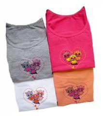 EMY Bimba Emy Bimba 1083 dívčí kalhotky s košilkou Barva: oranžová, Velikost oblečení: 11/12-146/152