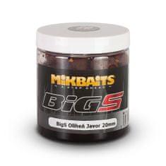Mikbaits BiG boilie v dipu 250ml - BigS Oliheň Javor 16mm