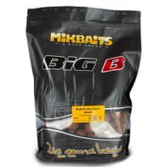 Mikbaits BiG boilie 1kg - BigB Broskev Black pepper 20mm