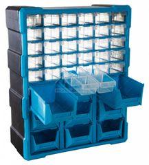 AHProfi Plastový organizér / box na skrutky 39 rozdeľovačov - MW1501 | AHProfi