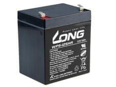 Long Long 12V 5Ah olověný akumulátor HighRate F1 (WP5-12SHR F1)