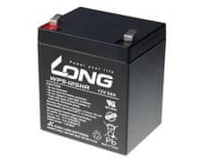 Long Long 12V 5Ah olovený akumulátor HighRate F2 (WP5-12SHR F2)