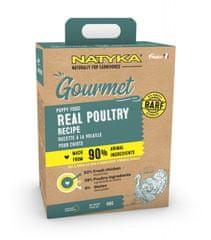 Natyka Gourmet Dog Puppy poultry 3 kg