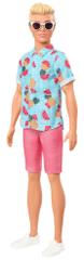 Mattel Barbie Model Ken 152 – Srajca s sadnim vzorcem