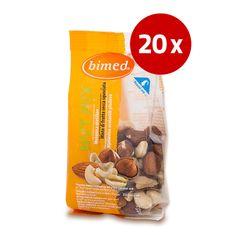 Bimed Nut Mix mešanica oreščkov, 20 x 120 g