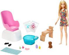 Mattel Barbie Manikúra/Pedikúra Herné set