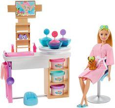 Mattel Barbie Salón krásy Herný set s blondínkou