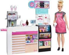 Mattel Barbie Kavarna s punčko