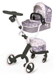 DeCuevas 81535 moderni voziček za lutke dojenčke 3 v 1
