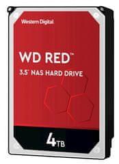 Western Digital Red trdi disk, 4 TB, SATA 6 Gb/s, 256 MB (WD40EFAX)