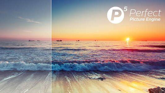 Engine Philips P5, Ultra HD 4K, részletek, kontraszt, színek, mozgás