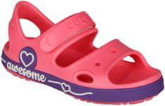 Coqui buty dziewczęce Yogi New rouge/Lila