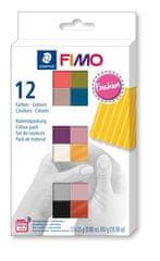 Staedtler FIMO® soft sada 12 barev 25 g FASHION